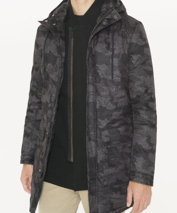 MORATO LONGLINE CAMOUFLAGE -PATTERNED JACKET
