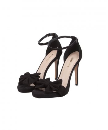 BRUNI LEATHER BOW SANDAL