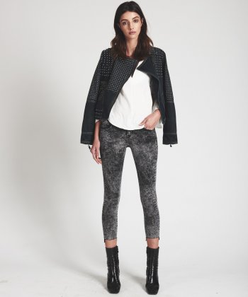 GREY SOCIETY LOW WAIST SKINNY JEANS